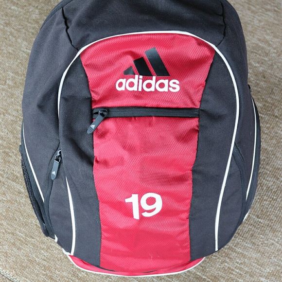 b9ab90b8b449 adidas Other - ADIDAS RED Climacool Spring Load Freshpak Backpack